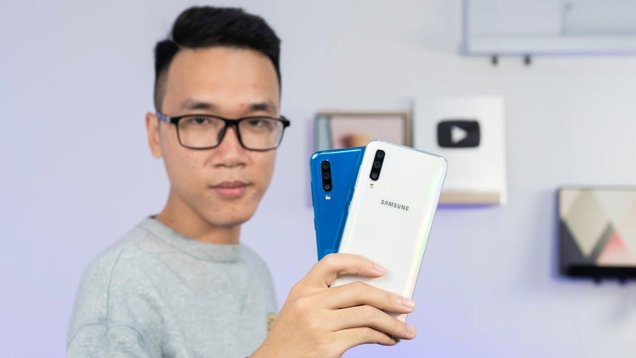 Đánh giá chi tiết Samsung Galaxy A50