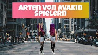 German Video - Arten von Avakinlife Spielern | Avakin life deutsch