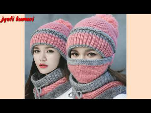 latest-beautiful-winter-hat-&-cap-designs-collection-2018---19