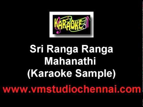 Sri Ranga Ranga Nathanin Karaoke Good Quality