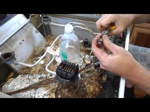 Ремонт переключателя электродуховки газовой печки