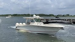 2019 Scout 355 LXF Boat For Sale at MarineMax Ship Bottom, NJ