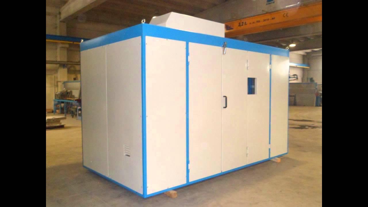 Scm cabine insonorizzate per macchine utensili carenature for Cabine per nascondigli glenwood