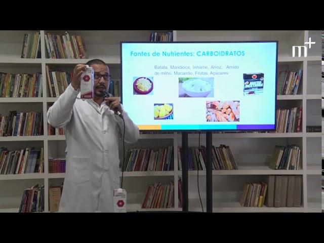 Programa de Cuidador Familiar - Terapia Nutricional Via Sonda -  Nutricionista Fabrício Paixão