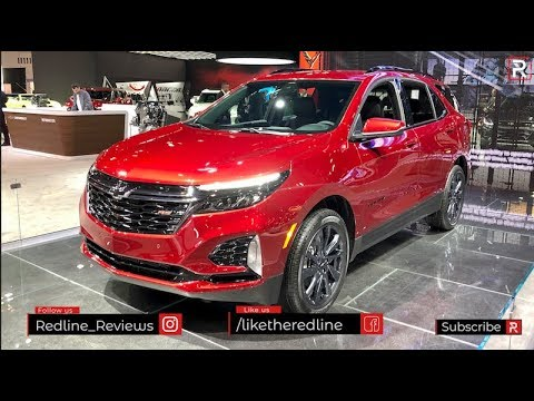 2021 Chevrolet Equinox RS – Redline: First Look – 2020 Chicago Auto Show