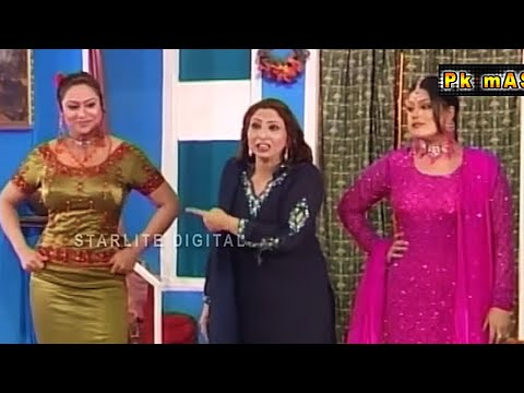 Best Of Abida Baig and Shahid Khan Vicky New Stage Drama Full Comedy