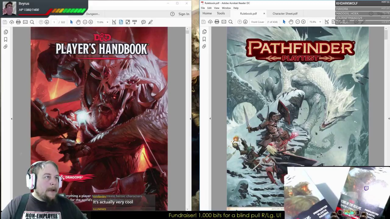 Pathfinder 2e Playtest Review Part 1: Overview through Races