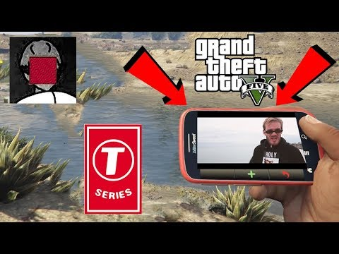 Pewdiepie VS T-series in GTA V !! // Franklin reacts to tseries diss track !!