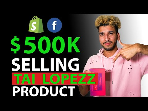 [Free Course] $0-500K in 60 Days Dropshipping (Shopify & Facebook Ads) | Using Tai Lopez Product thumbnail