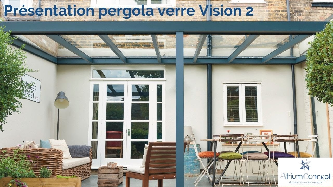 Pergola Vision 2 Toit Coulissant Youtube