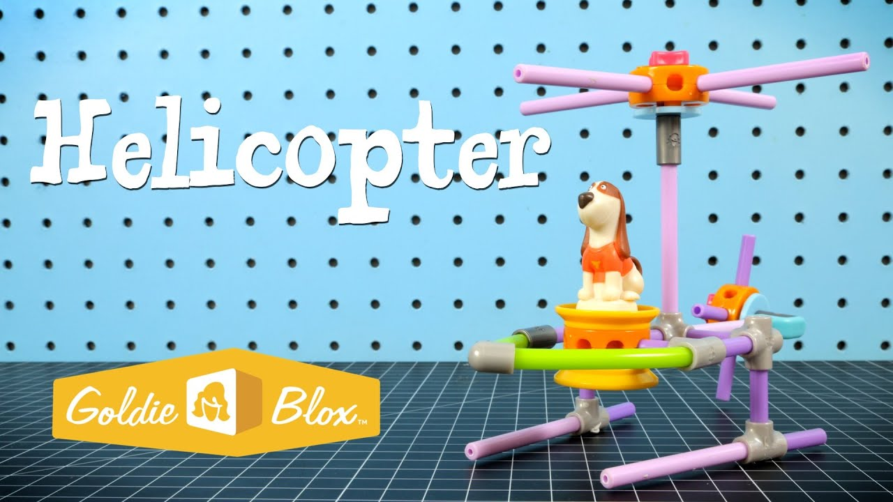 how to build a helicopter