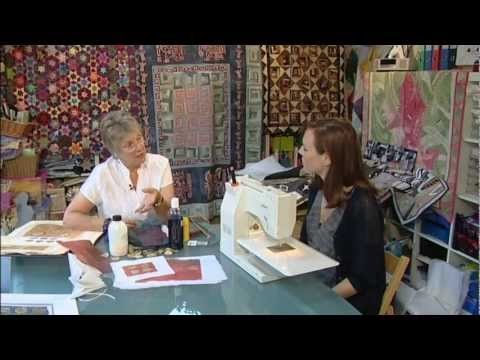 How to Quilt - Quilting with textile artist Di Wells - Quilting Arts