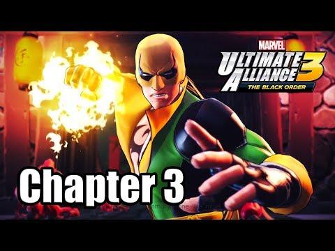 Marvel Ultimate Alliance 3: The Black Order - Gameplay Walkthrough Part 3 (Chapter 3) - 동영상