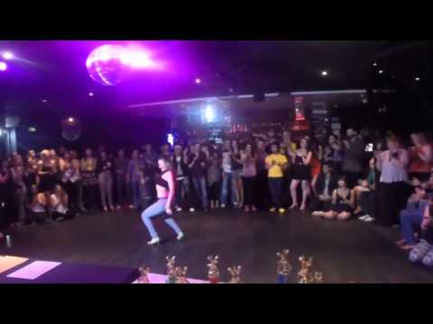 Adelaide's Best Social Dancer Competition Series 2014 - Finals - Samba - Becky