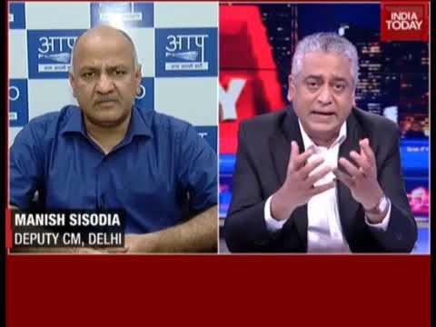 Education Minister Manish Sisodia On India Today (Gurgaon Murder in Ryan School)