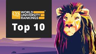Meet the World's Top 10 Universities 2020