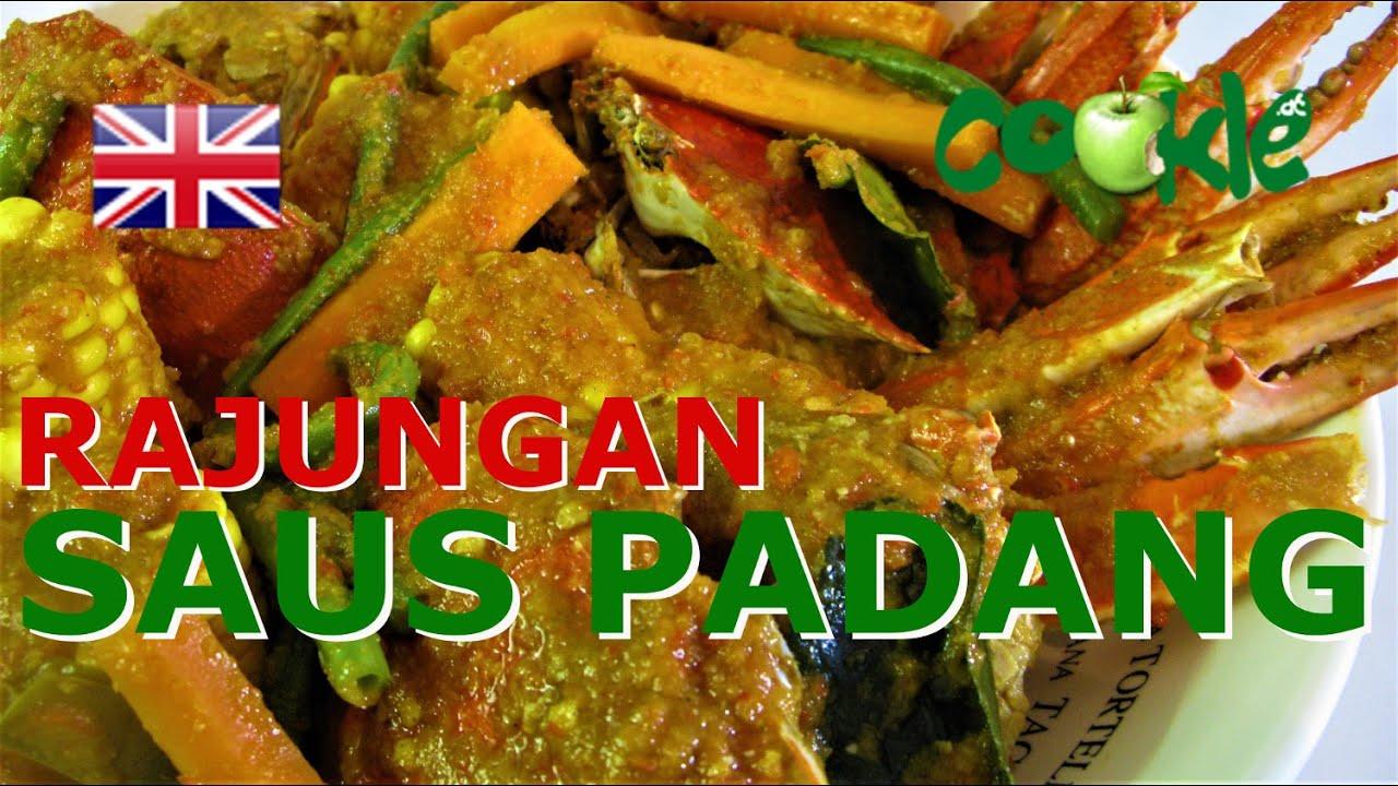 [EN] Recipe RAJUNGAN SAUS PADANG - Blue Crab in Padang Sauce