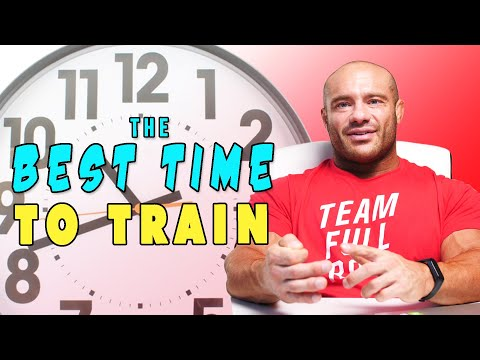 What Time of the Day is Best to Train
