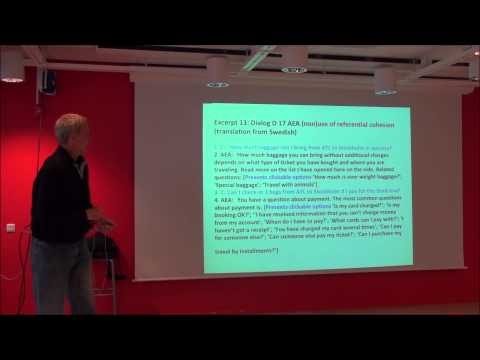 University of Gothenburg - Comparing Artificial Embodied Communicative Agents and Human