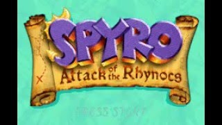 Spyro: Attack of the Rhynocs Walkthrough Part 1
