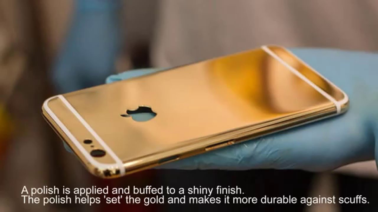 How To Black Gold Iphone 6 And 5 S