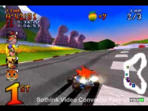 Crash Team Racing - Part 15: Coco Park (Trophy Race)