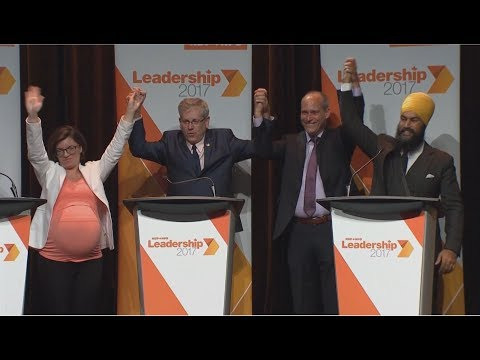 NDP Leadership: How the Voting Works
