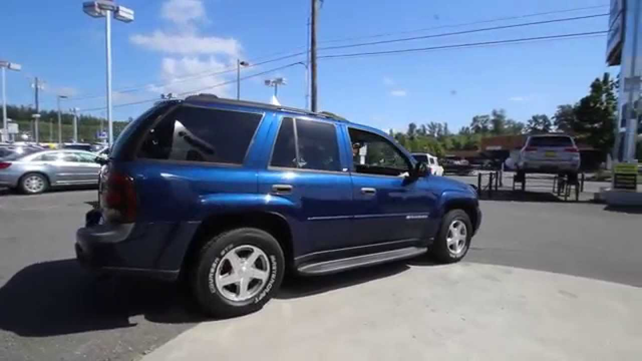 2003 chevrolet trailblazer lt blue 32138560 mt vernon skagit