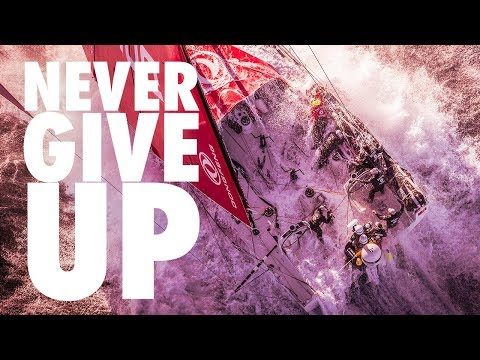 NEVER GIVING UP...