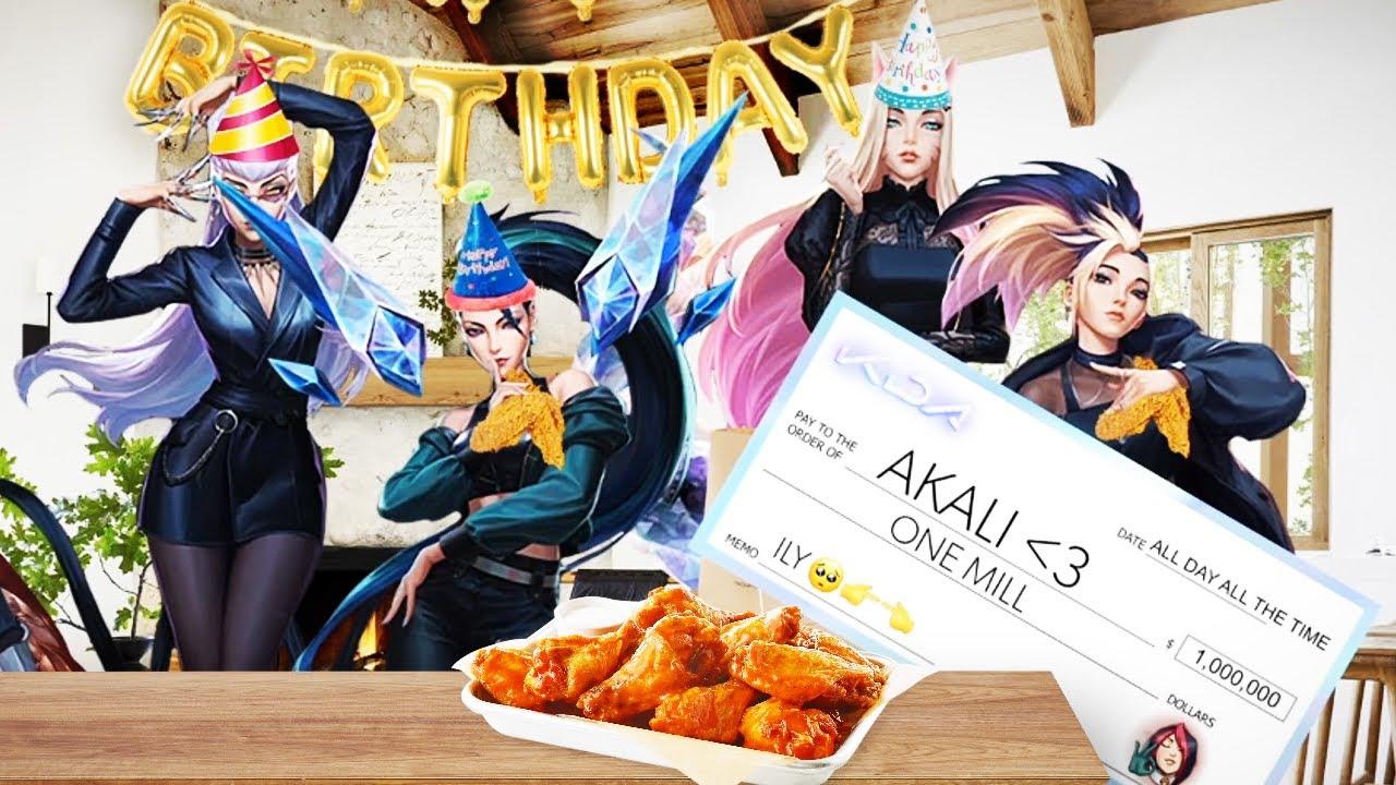 Akali's part time adventure 2 (Akali's birthday party)