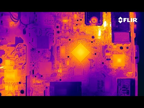FUN WITH FLIR (forward looking infrared / thermal)