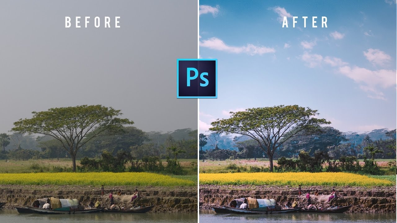 Photoshop Tutorial: How to replace Sky | Adobe Photoshop CC 2017