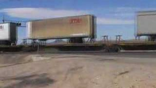 BNSF Trailer Train - Kramer Junction, California