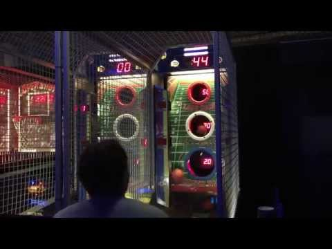 Way Over Max Score On Two Minute Drill (Football Arcade Game)