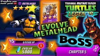 epic pack evolve metalhead boss chapter 5 tmntlegends gameplay 25 angryfungames