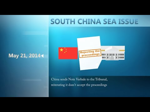 Timeline of South China Sea Arbitration Case