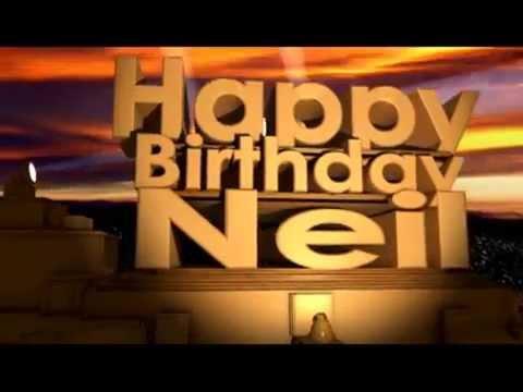 Happy Birthday Neil
