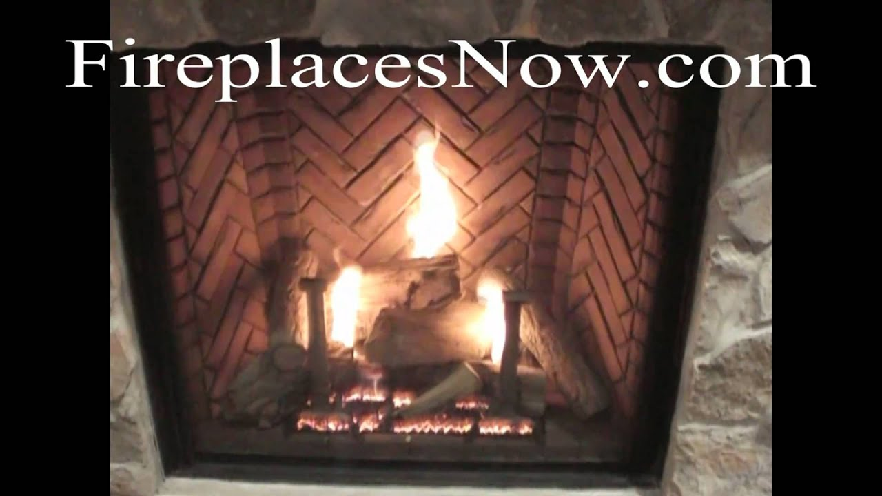 Monessen Covington Series Clean Face Direct Vent Fireplace - YouTube