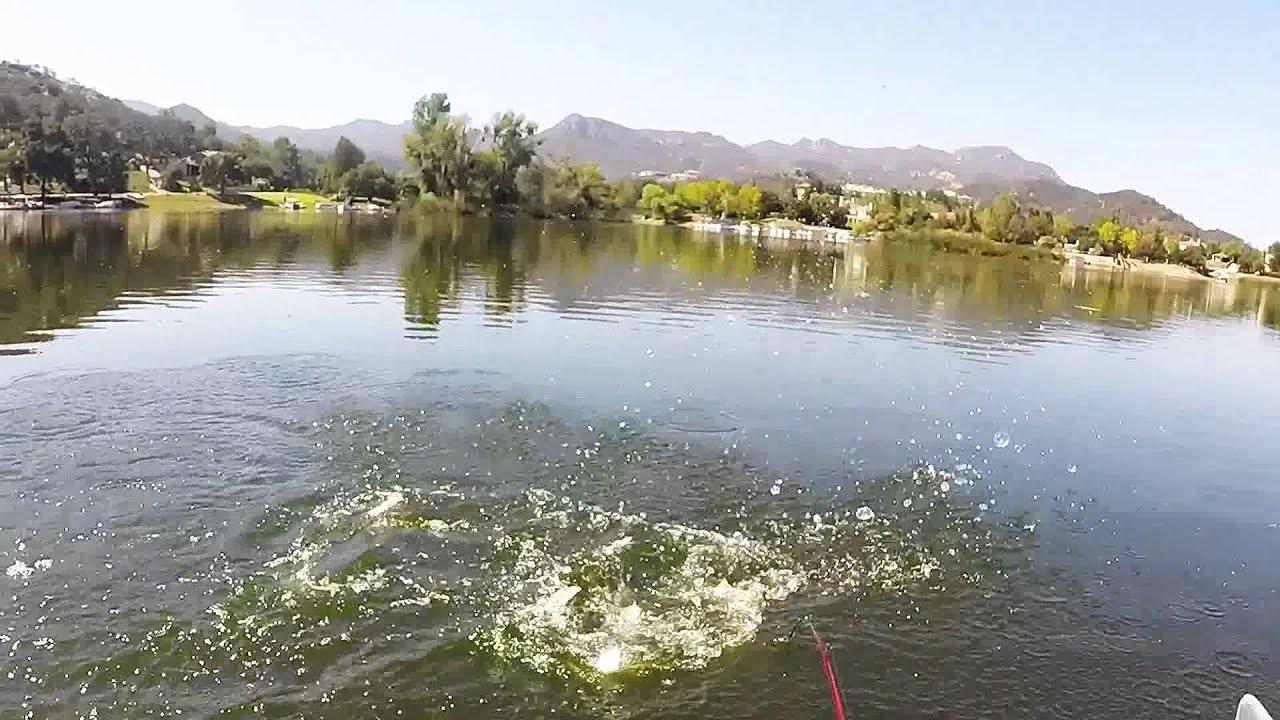Bass fishing at sherwood lake ca youtube for Bass lake ca fishing