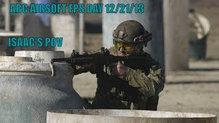 ARC AIRSOFT FPS DAY 12/21/13 | GAME 1 | ISAAC'S POV|