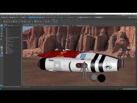 Autodesk Media & Entertainment Collection workflows demo video