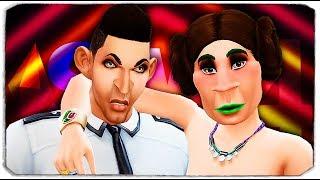 ДАША РЕЙН - ПЛАСТИЧЕСКИЙ ГЕНЕТИК?! - The Sims 4 ЧЕЛЛЕНДЖ - \