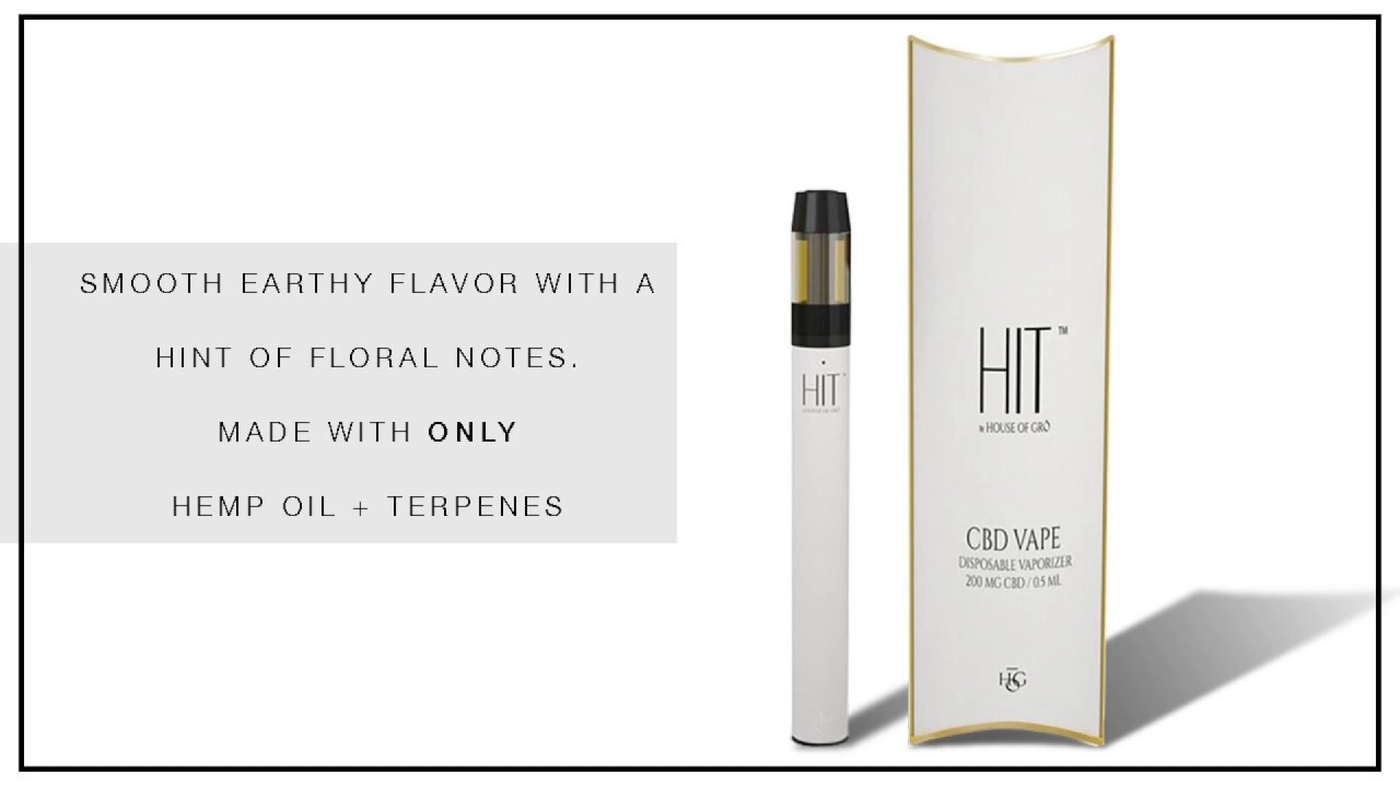 OUR CURRENT OBSESSION : CBD VAPE PEN | HIT by HOUSE OF GRŌ | WHITE LABEL  CBD MARKET