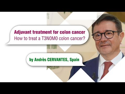 Adjuvant Treatment For Colon Cancer How To Treat A T3n0m0 Colon Cancer Youtube