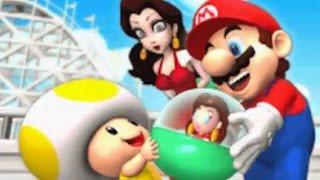 Mario Vs. Donkey Kong: Mini-Land Mayhem! - World 4 - Warped Mansion