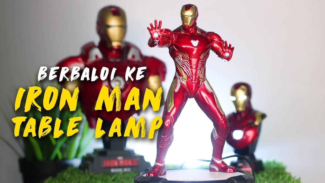 Petron Iron Man Table Lamp, Berbaloi Ke?