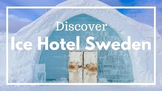 FOLLOW ME AROUND A MAGICAL WINTER WONDERLAND // THE ICE HOTEL SWEDEN