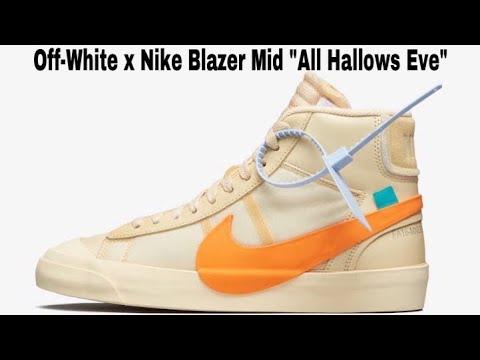 "d7ea946ac33b06 Off-White x Nike Blazer Mid ""All Hallows Eve"""