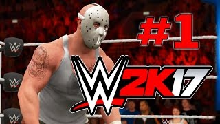 WWE 2K17 - Прохождение на русском - часть 1 - Должен соответствовать