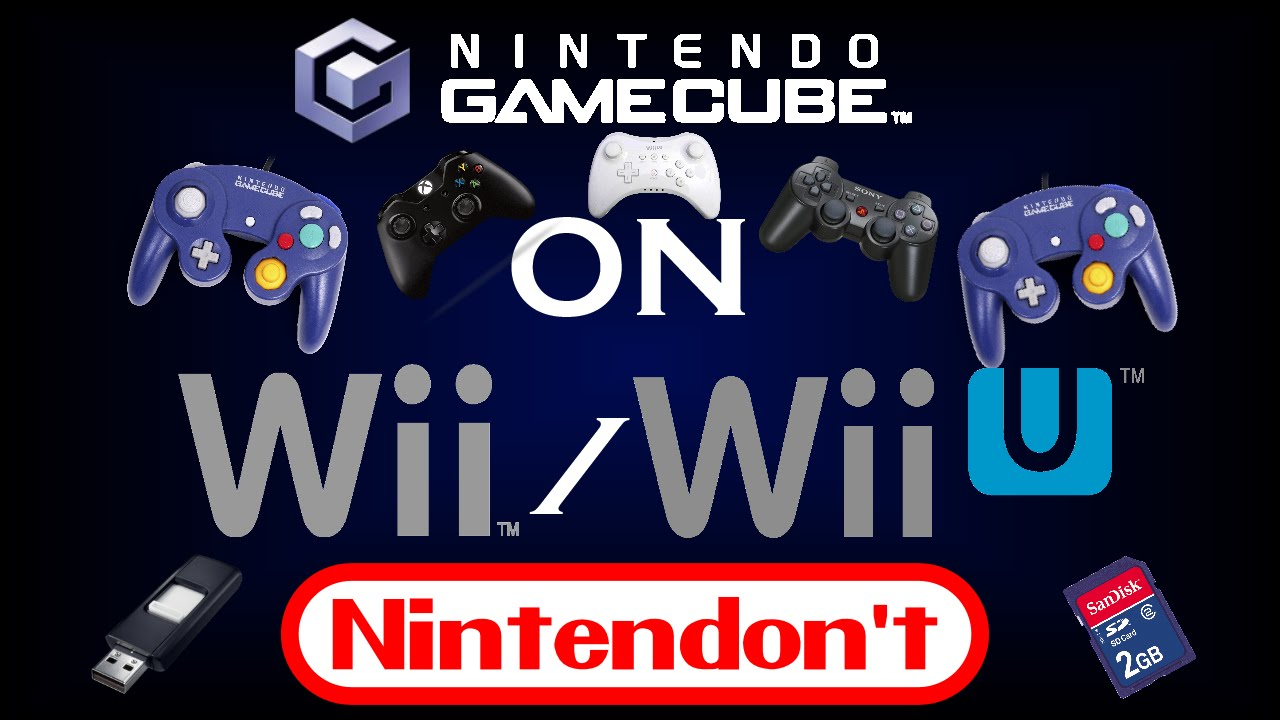 playing gamecube games on wii usb
